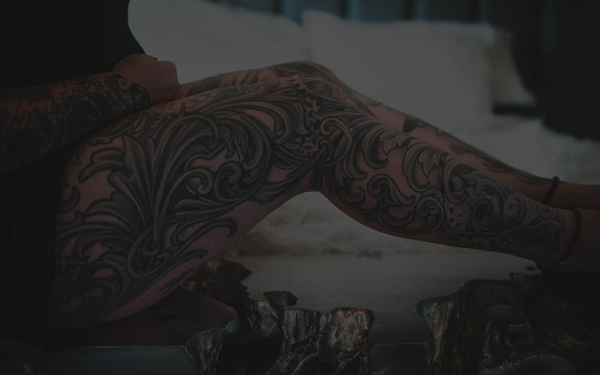 full leg sleeve tattoo bend OR