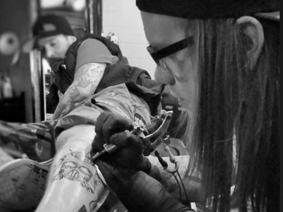Ian Anderson tattoo artist